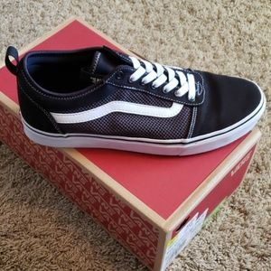 Vans Shoes - Brand New Vans Black and White slip ons